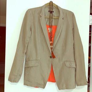 Gap linen blazer